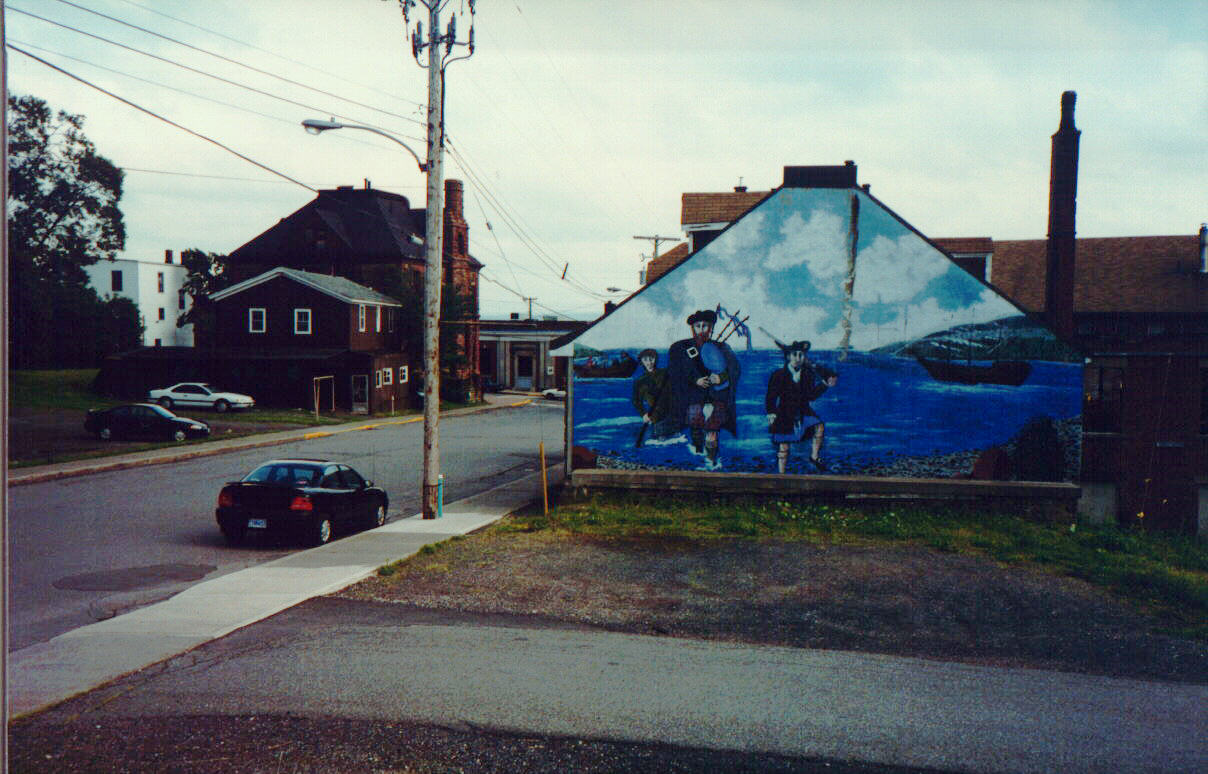 Mural in Pictou